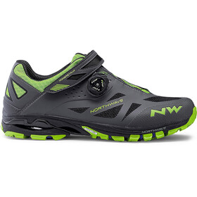 Northwave Spider Plus 2 Shoes Men grey/green
